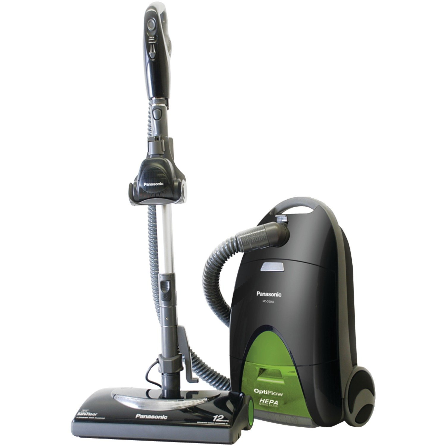 Panasonic MC-CG917 OptiFlow Bag Canister Vacuum Cleaner - Corded