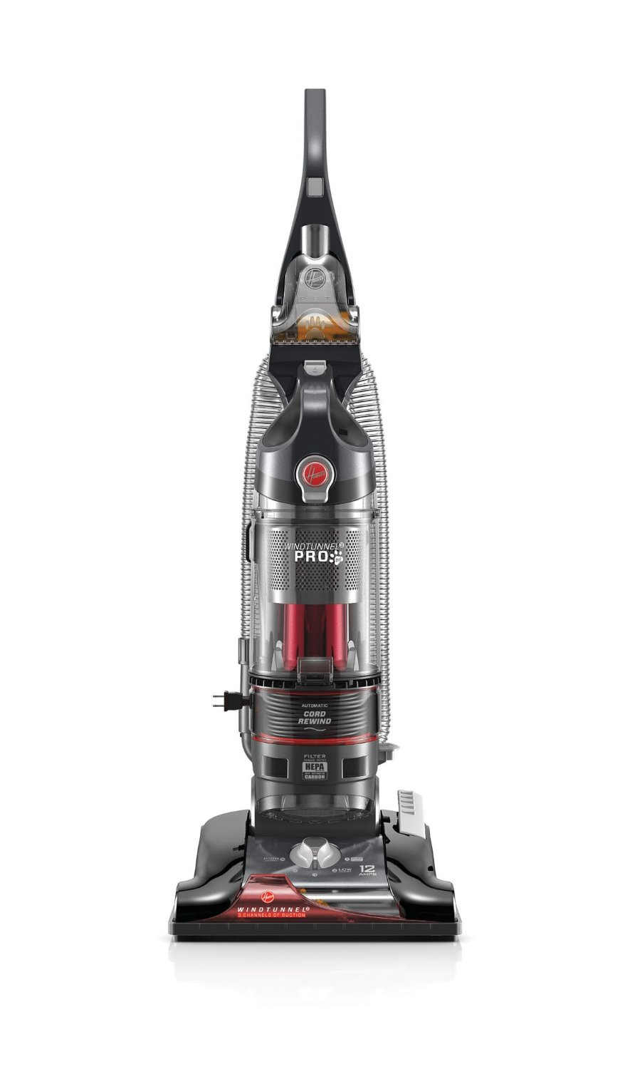 Hoover Vacuum Cleaner WindTunnel 3 Pro Pet Bagless Corded Upright Vacuum UH70931PC