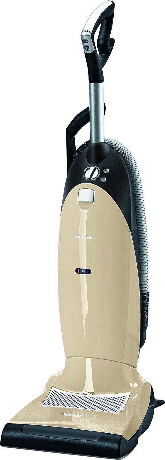 Miele Dynamic U1 Limited Edition Upright Vacuum, Ivory White - Corded