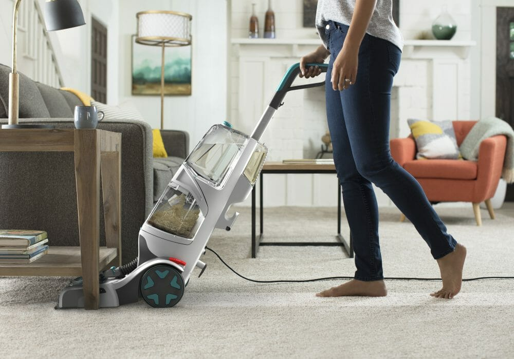Use The Height Adjustment Tool carpet cleaners